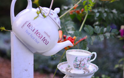 9 Eye-Catching Garden Decor Ideas From Recycled Waste