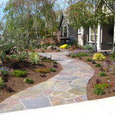 Traditional Landscape by Samscaping Landscape Design and Build