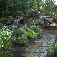 Eclectic Landscape by Alderwood Landscape Architecture and Construction