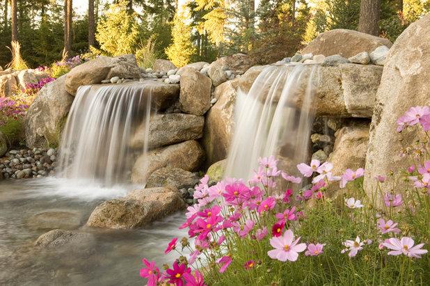 I giardini rocciosi acquatici - Fontane da giardino usate ...
