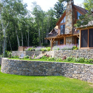 Stone Walls Landscaping Houzz