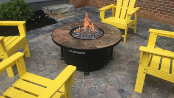 Gas Fire Pit Patio