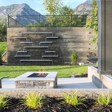 Modern Landscape by Decorative Landscaping