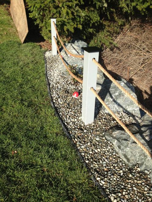 Outdoor Gestaltung Mit Gartenmauer Maritim Ideen F 252 R