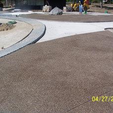 Traditional Landscape by Potoroka Concrete