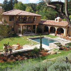 Mediterranean Landscape George W. Girvin Associates, Inc.