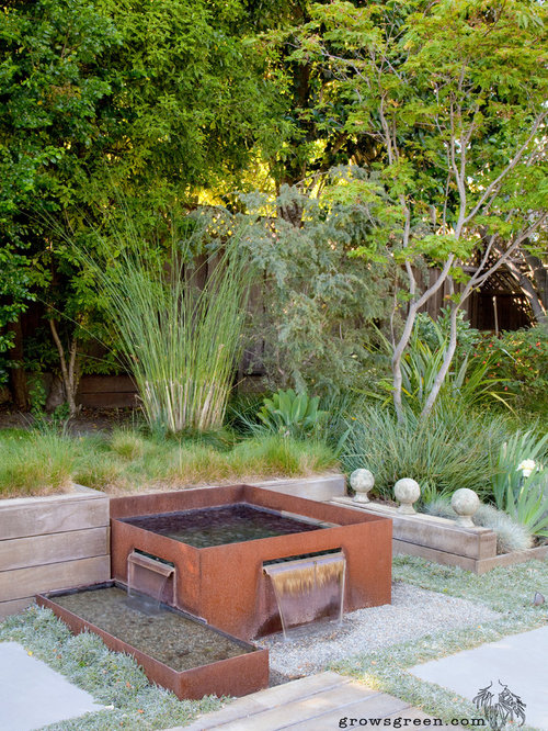 Photo Of A Medium Sized Scandinavian Back Xeriscape Full Sun Garden In San  Francisco With A