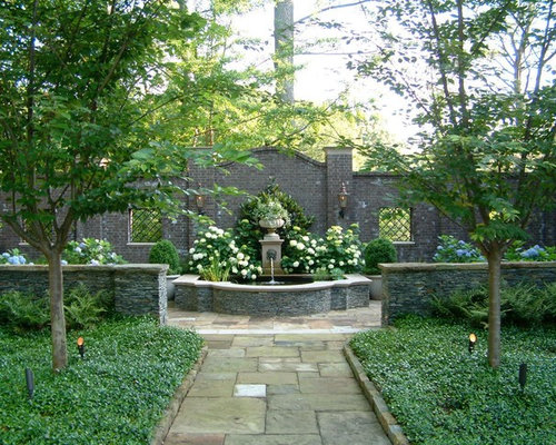 Courtyard gardens home design ideas pictures remodel and for Garden design georgian house