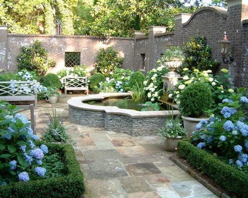 Backyard Formal Garden Design Ideas Renovations Photos