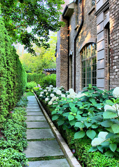 Traditional Garden by Arrow. Land + Structures
