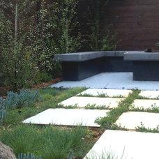 Contemporary Landscape by Weeds Garden & Interior Design