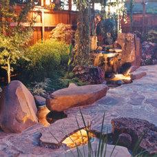 Asian Landscape by Goodman Landscape Design
