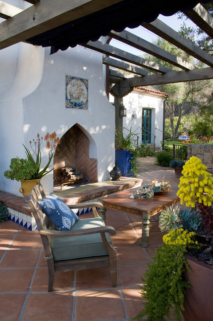 Mediterranean Landscape by Margie Grace - Grace Design Associates
