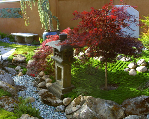 Design ideas for an asian landscape in Santa Barbara. - Small Japanese Garden Houzz