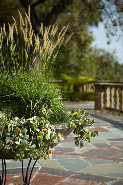 Traditional Landscape by Margie Grace - Grace Design Associates