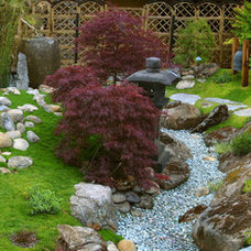 Asian Landscape by Margie Grace - Grace Design Associates