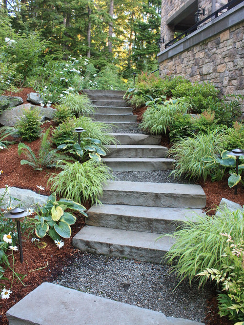 Landscaping Stair Houzz