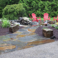 Traditional Landscape by Classic Nursery & Landscape Co.
