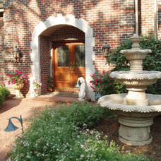 Traditional Entry by Carved Stone Creations, Inc.