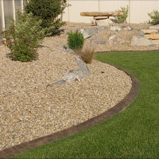 Traditional Landscape by Saunders Landscaping Supply