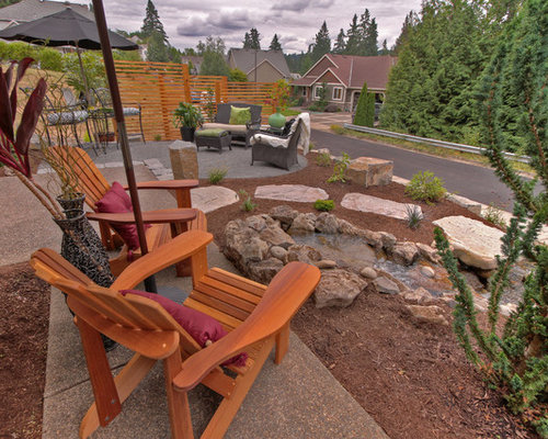 saveemail paradise restored landscaping exterior design - Front Yard Patio Ideas
