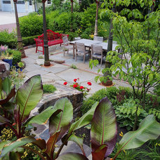 Traditional Landscape by Groundswell Design Group, LLC