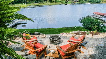 Green Oasis Firepit Patio