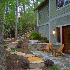 Eclectic Landscape by Living Stone Construction, Inc.