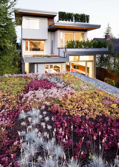 Modern Garten by Natural Balance Home Builders