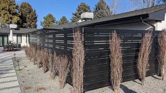 Greenwood Village Modern Fence