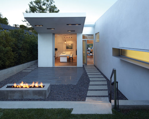 Concrete Fire Pit | Houzz on Modern Boma Ideas id=88260