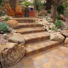 Traditional Landscape by Desert Gardens Nursery