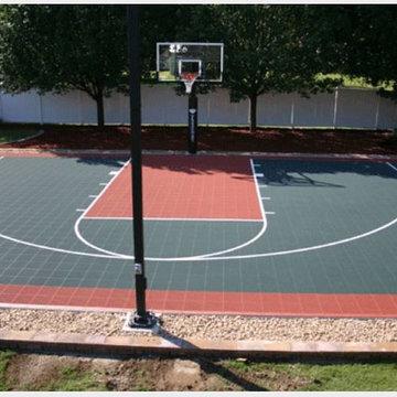 Half Outdoor Courts