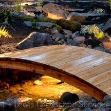Contemporary Landscape by Lewis Landscape Services, Inc.
