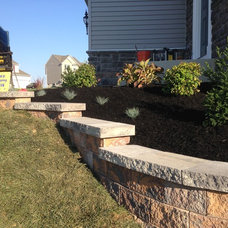Transitional Landscape by RYAN'S LANDSCAPING - PAVERS PATIOS HANOVER PA