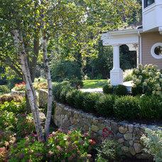 Traditional Landscape by Amy Martin Landscape Design