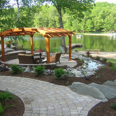 Traditional Patio by Wolbers Possehn Pools Ponds Landscapes