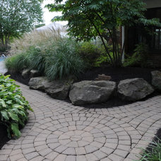 Traditional Landscape by Brown Design Group