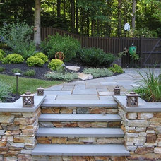 Traditional Landscape by Urban Gardens Inc.