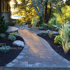 Eclectic Landscape by Lewis Landscape Services, Inc.