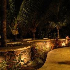 Tropical Landscape by Luke Busker Masonry LLC