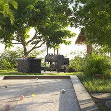 Tropical Landscape by Dara Rosenfeld Design