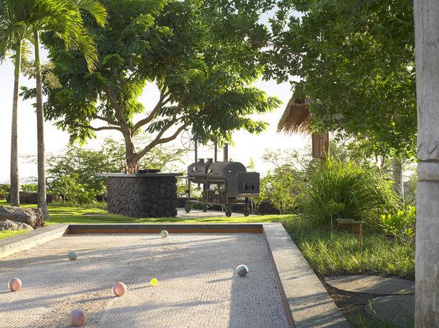 9 am nagements pour jouer en famille dans le jardin for Terrain de petanque dans son jardin
