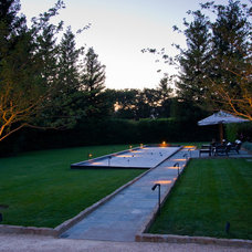Transitional Landscape by Bella Vita Garden Design