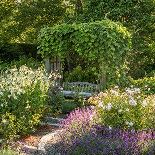Свежая идея для дизайна: участок и сад в морском стиле - отличное фото интерьера