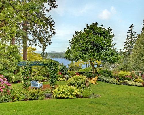 Jardin campagne de luxe photos et id es d co de jardins for Decoration jardin campagne