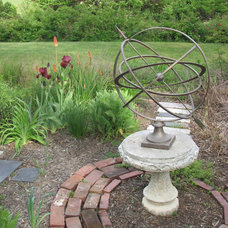 Traditional Landscape by Cabell Design Studio