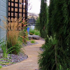 contemporary landscape by Sterling Landscape Company