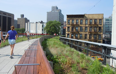 Garden Inspiration From New York's New High Line