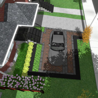 Front Car Parking Pad Houzz